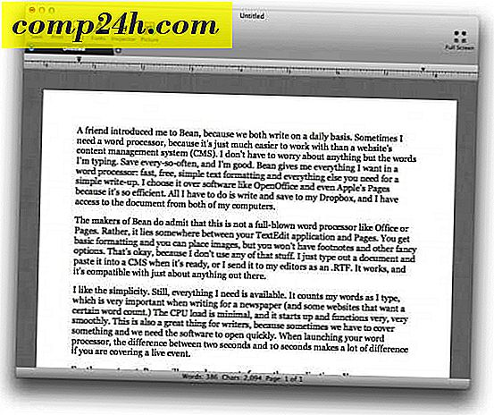 Bean: My Favorite Word Processor voor Mac