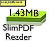 SlimPDF Reader är ett gratis minimalt Adobe alternativ