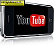 "YouTube Mobile HTML5 Site erstatter alle ""Apps"""