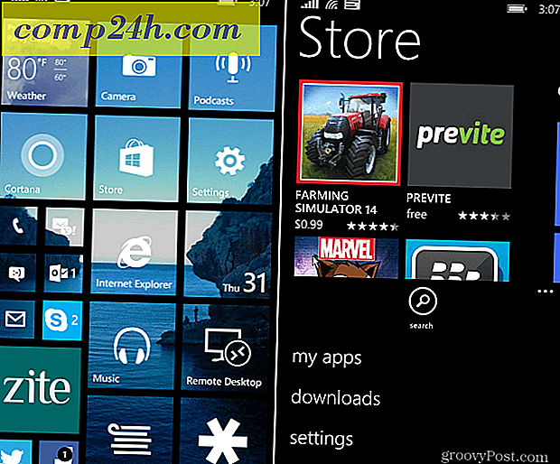 Windows Phone 8.1 Tips: Kontrollera manuellt för appuppdateringar