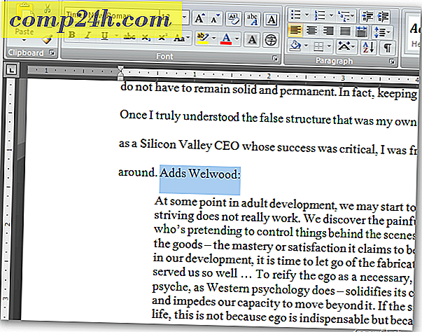 Microsoft Word: Skift tekst til hyperlinks