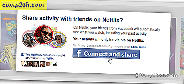Sådan aktiverer du Netflix Facebook Sharing Integration