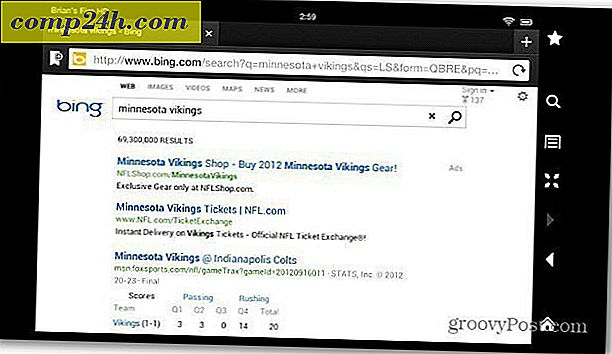 Zmień Kindle Fire HD Search z Bing na Google