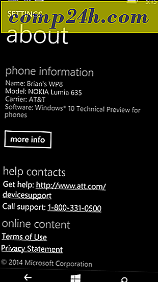 Återställ (Återuppringning) Windows 10 Mobile till Windows Phone 8.1