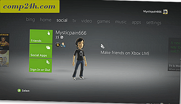 Xbox 360: Skift standard dashboardtema