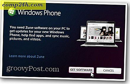 Opdater Windows Phone 7 med Zune Software