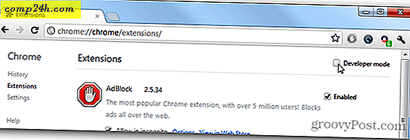 Google Chrome-extensies handmatig bijwerken