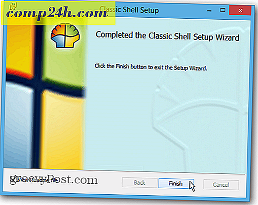 Nyissa meg a Start menü Vissza a Windows 8-ban a Classic Shell-al