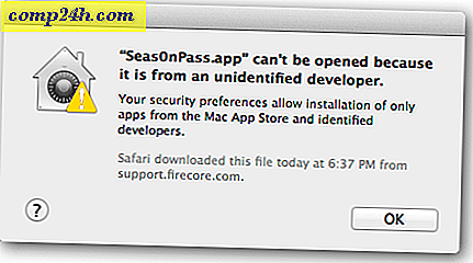 Stäng av OS X Mountain Lion Gatekeeper Security