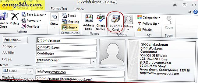Erstellen Einer Visitenkarten Signatur In Outlook 2010