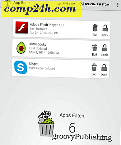Batch avinstallera Android Apps med App Eater