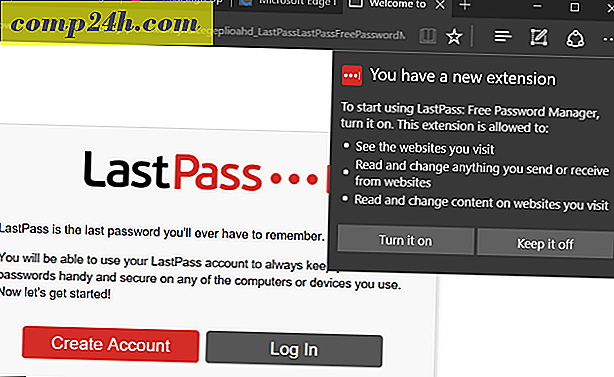 Hoe LastPass op Windows 10-jubileum-update te installeren