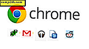 groovyTip: Vis kun favicon for at tilpasse mere til Chrome Bookmarks Bar