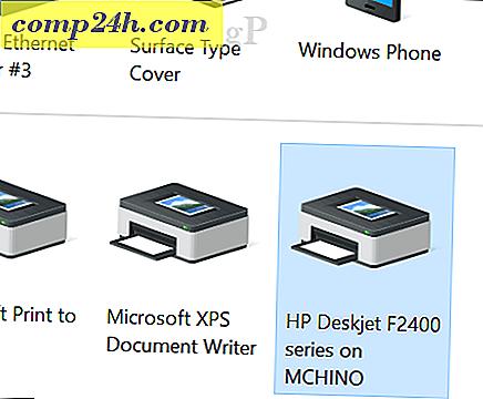 Een Printer Delen In Windows 10