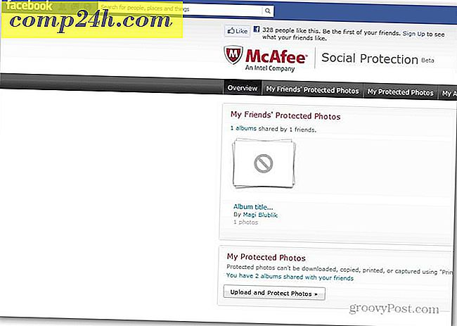 Bescherm Facebook Photos met McAffee Social Protection
