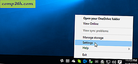 Neem een ​​screenshot in Windows 10 en Auto Save it to OneDrive