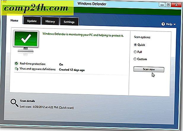 Windows Defender i Windows 8 Inkluderer MSE