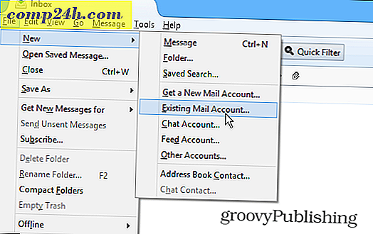 Hoe installeer ik Outlook.com IMAP in Thunderbird