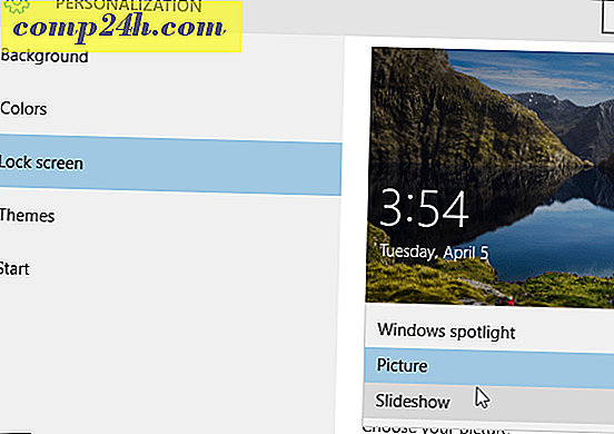 Så här stänger du av Windows 10 Lock Screen Ads