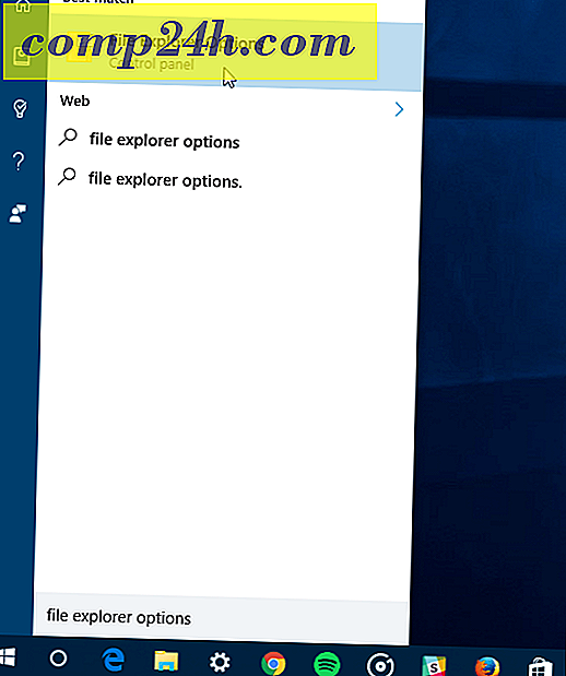 Sådan slettes Windows 10 Quick Access History i File Explorer