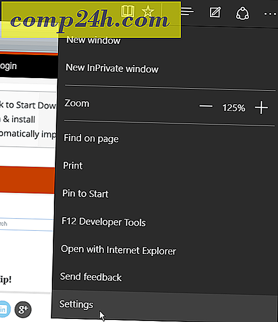 Windows 10 Tips: Gör Edge Browser Open till flera webbsidor