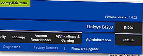 Cisco Linksys Router: upgrade van de firmware