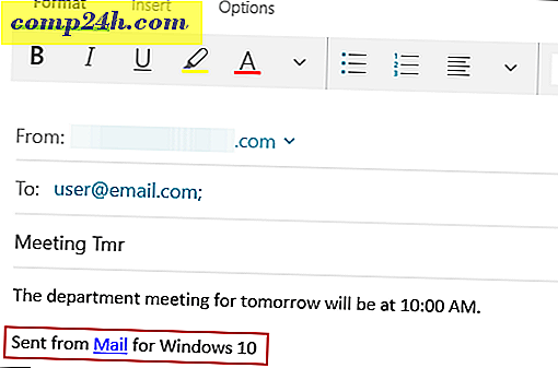 Så här ändrar du standardprenumerationen för Windows 10 Mail App