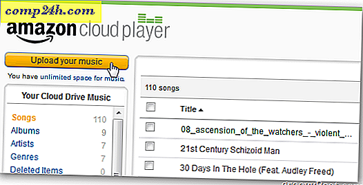 Kindle Fire: Stream din iTunes Music fra Amazon Cloud Player