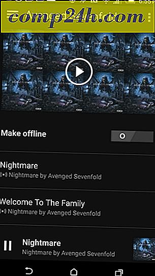 Lägg till din musik till OneDrive och spela den med Groove