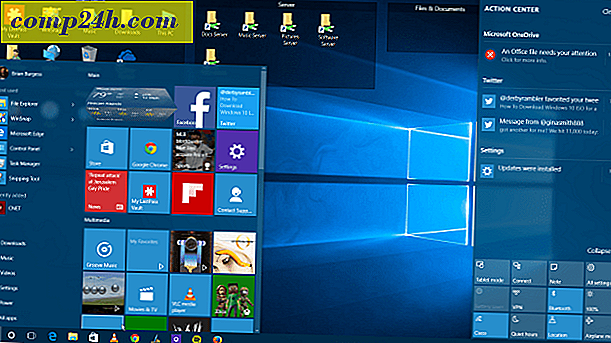 Back-up van de Windows 10 maken Start de lay-out van het menu