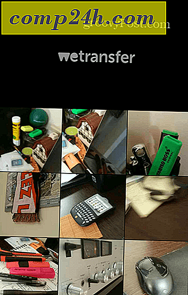 WeTransfer nyt on Android-sovellus