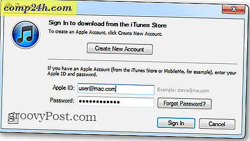 Apple iTunes Match: Komme i gang