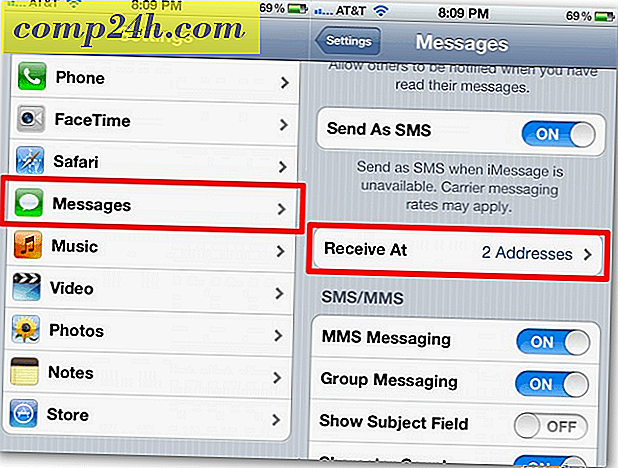 Apple iOS 5: houd iMessages gesynchroniseerd tussen iPhone en iPad