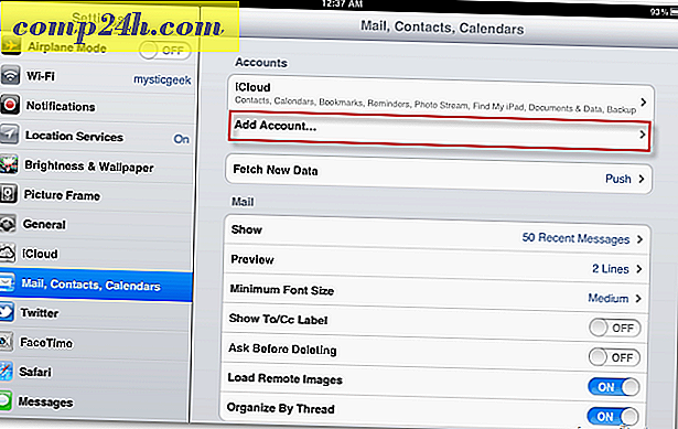 Hoe Mail instellen op iPhone, iPad of iPod Touch