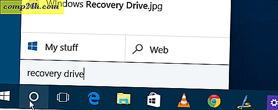 Slik lager du en Windows 10 USB Recovery Drive