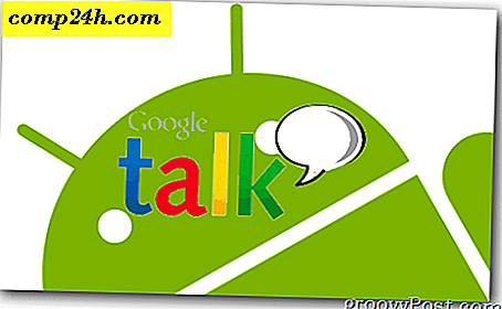 Verander Android Google Talk-accounts