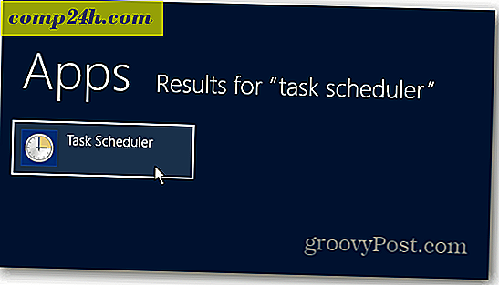Gør Windows 8 Boot Straight til skrivebordet med Task Scheduler