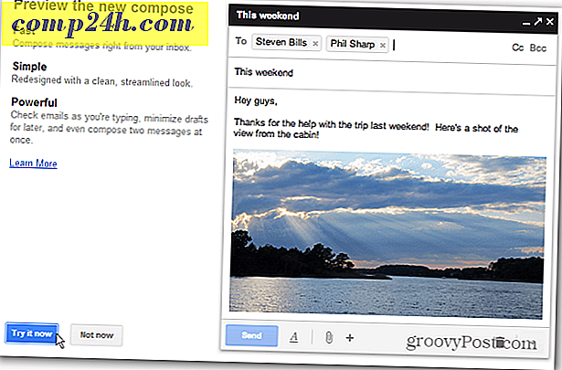 A Google Gmail újratervezi a Compose and Reply parancsot