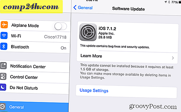 Apple udgiver iOS 7.1.2 Software Update