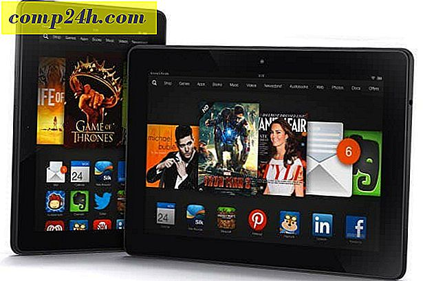Amazon introducerar Kindle Fire HDX-tabletter med förbättrade specifikationer