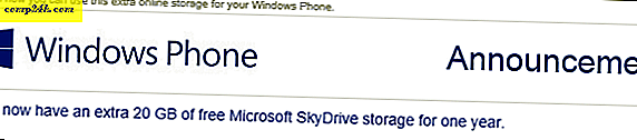 Windows Phone-brukere Få 20 GB gratis SkyDrive-rom