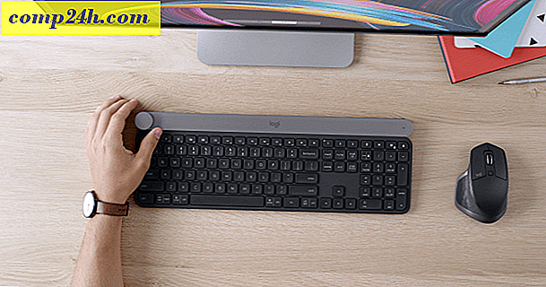 Logitech annoncerer nyt CRAFT Wireless Keyboard med Creative Dial
