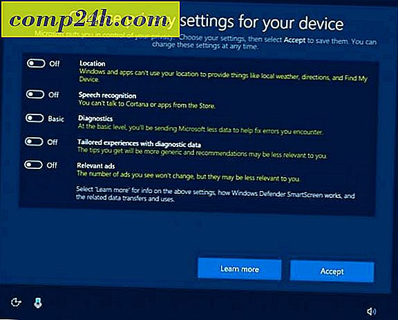 "Microsoft tillkännager ny Privacy Dashboard och eliminerar kontroversiella ""Express Settings"" i Windows 10 Creators Update"