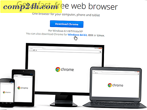 Google Chrome 64-bit nå tilgjengelig for Windows 7 og over