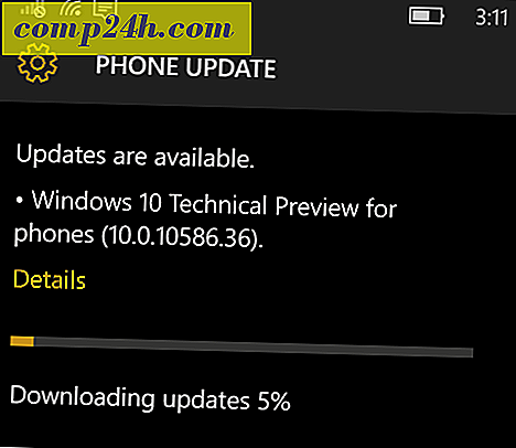 A Windows 10 Mobile Insider Build 10586.36 elérhető