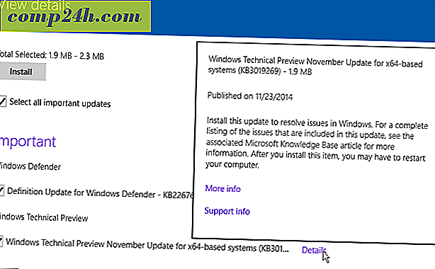 Microsoft Udgivelser (KB3019269) Patch til Windows 10 Build 9879