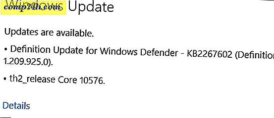 Windows 10 PC Preview Build 10576 Nu beschikbaar