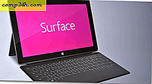 Microsoft Surface Tablet voor Windows 8 aangekondigd