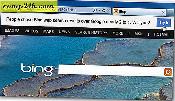 Tag Bing vs Google Challenge
