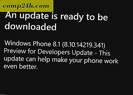 Windows Phone 8.1 Update 8.10.14219.341 Tillgänglig nu